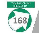 2b AHEAD Trendstudie: TrendIndex 2013: Trendklima in den Unternehmen rasant gestiegen
