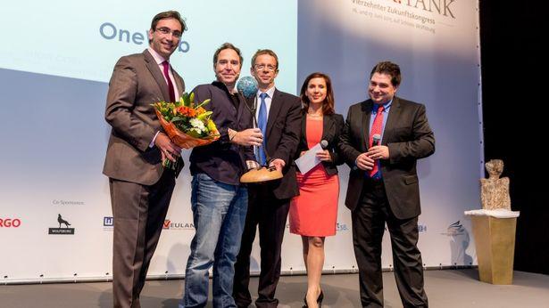 Greg Wyler erhält Innovators Award 2015