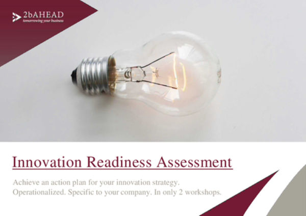 Innovation Readiness Assessment von 2b Ahead und KPMG