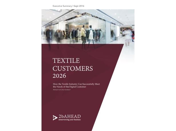 2b AHEAD Trend Study Textile Customers 2026